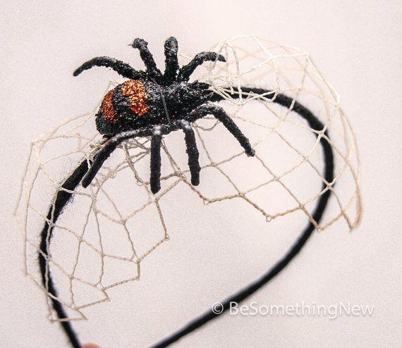 Costume Hair Accessories Halloween Spider Headband, Halloween ...