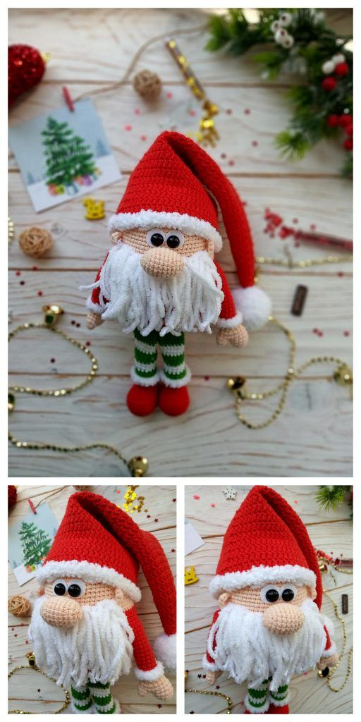 Amigurumi Shy Christmas Gnomes Free Pattern – Amig