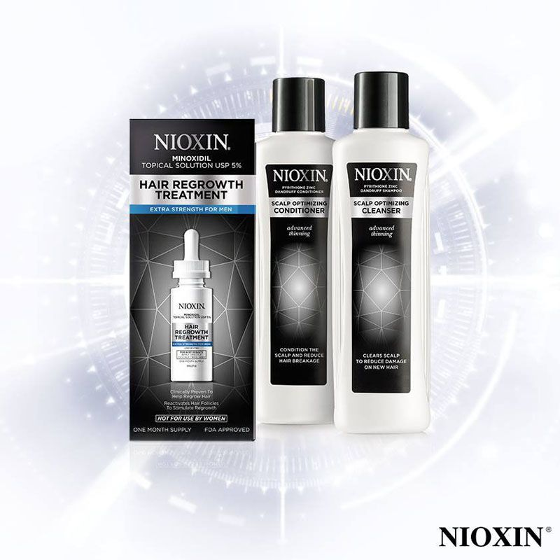 Nioxin NEW Advanced Thinning Line.