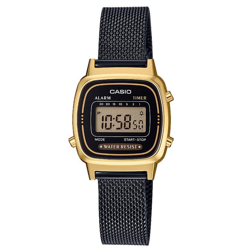 Damenuhr Collection Retro La670wemb 1ef Chronograph Casio Uhr Uhren