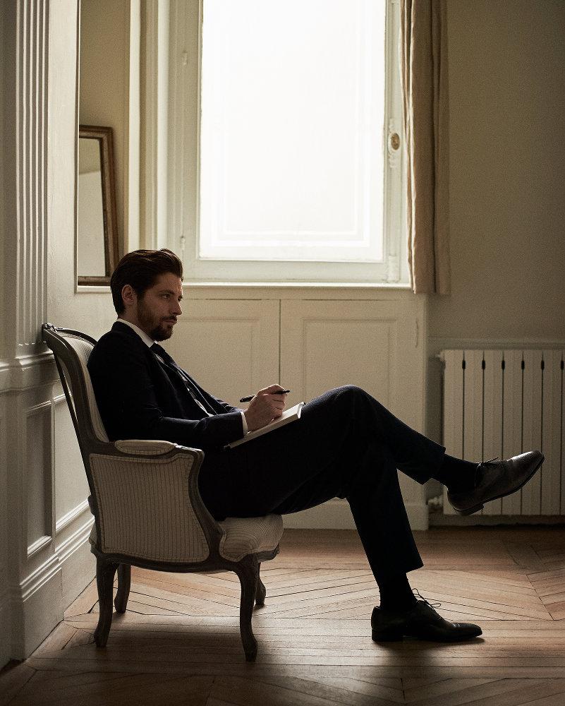 Jason Hetherington & GQ France Raphaël Personnaz — News