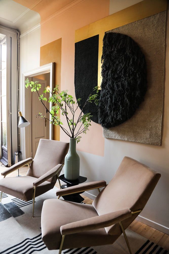 Studiopepe, le duo graphique Salons, Interiors and Armchairs