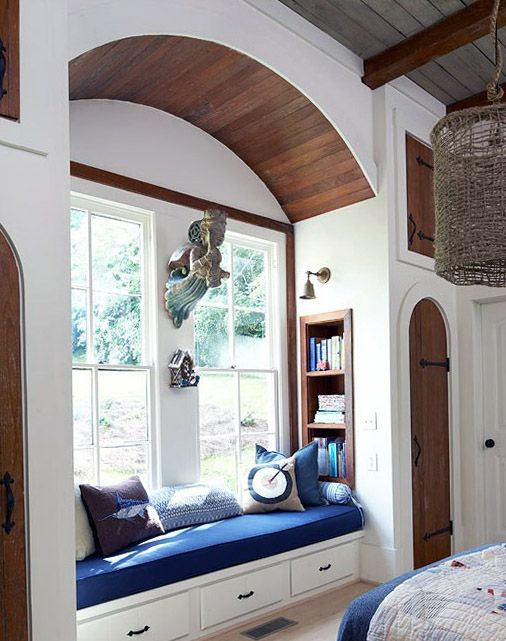 Relaxing Window Sill Cushioned Seats Interior Decorating Articles Interior Design Ideas Window Seat Design Cozy Window Seat Built In Window Seat