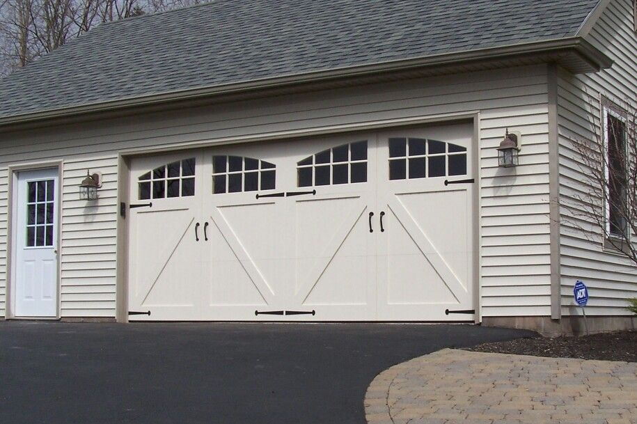 Barn Style Garage Door For The Home Is Where The Heart Is
