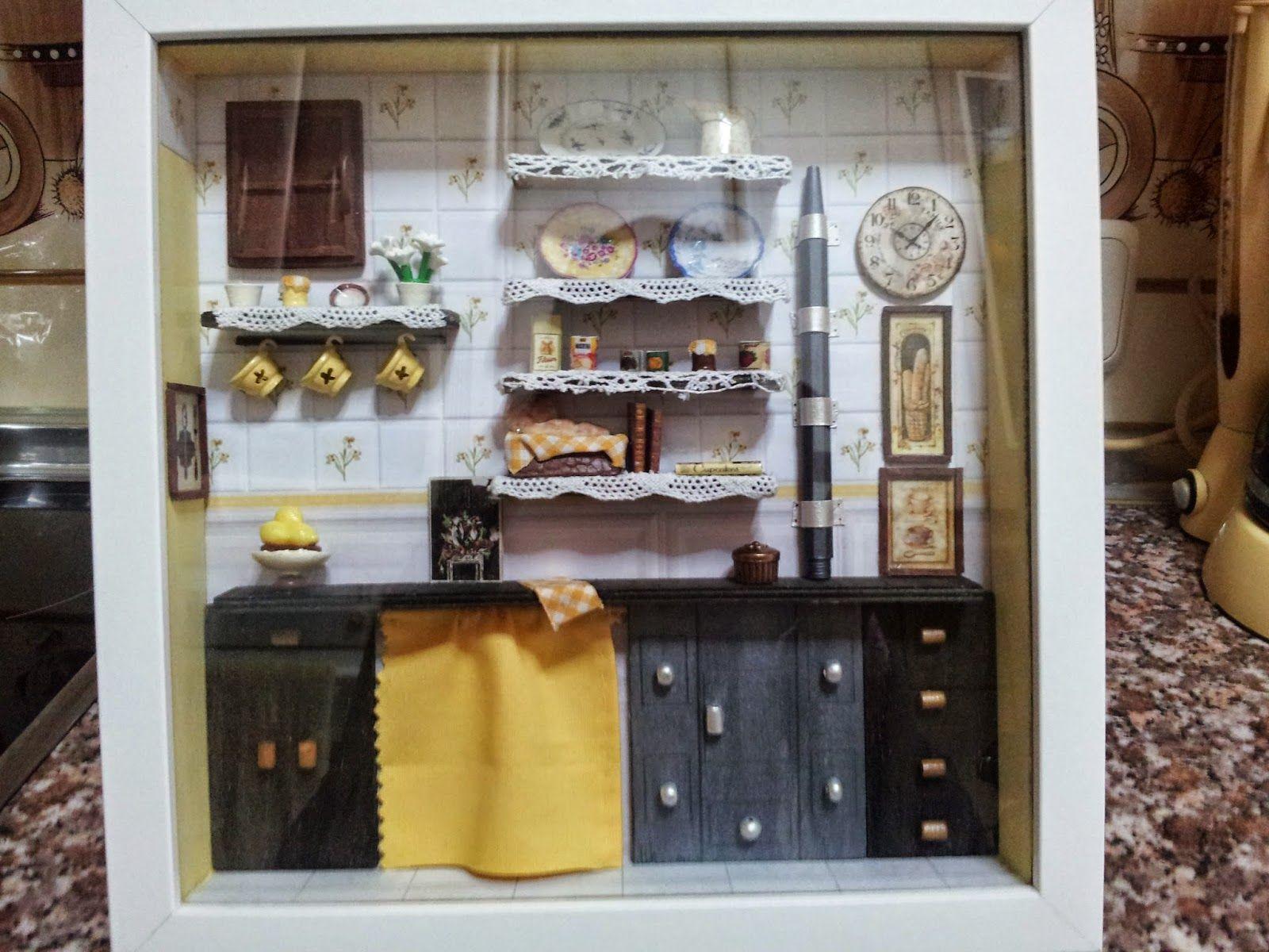 Escena de Cocina en miniatura