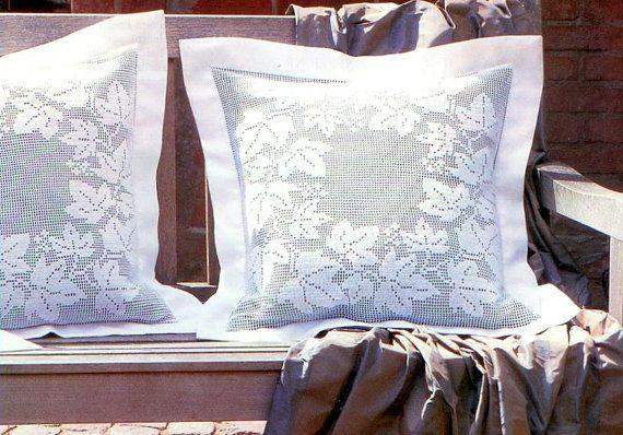 PDF Crochet pattern   crochet pillow Home decor  by Marypatterns