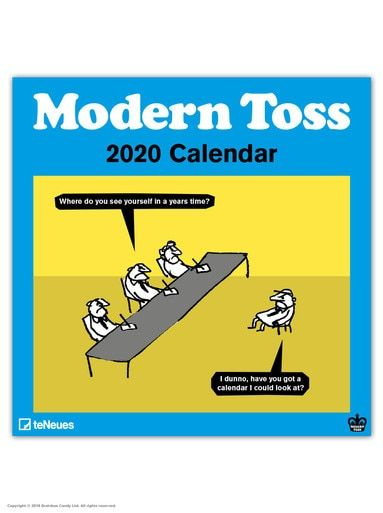 Modern Toss 2020 Calendar (With images)   Birthday cards ...