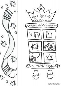 jewish bible stories coloring pages - photo#18