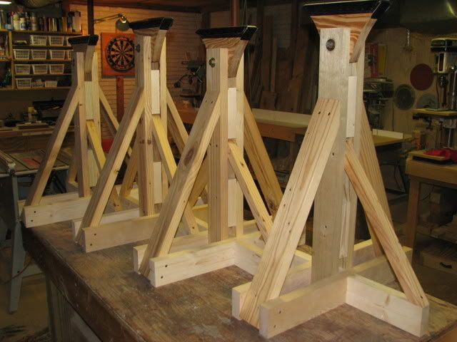 Diy boat stands nauti buoy pinterest boating and for How to build a tower stand