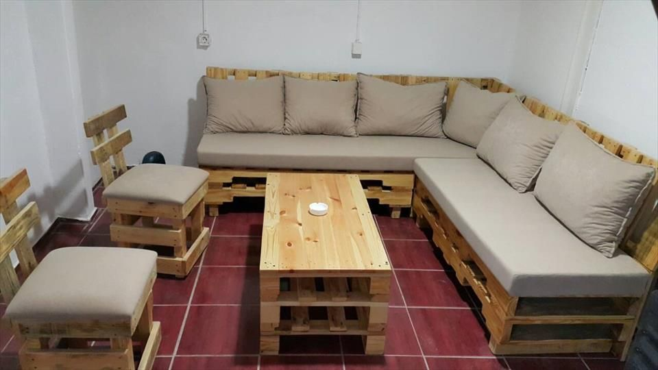 How To Build Your Own Sectional Couch Google Search Pallet