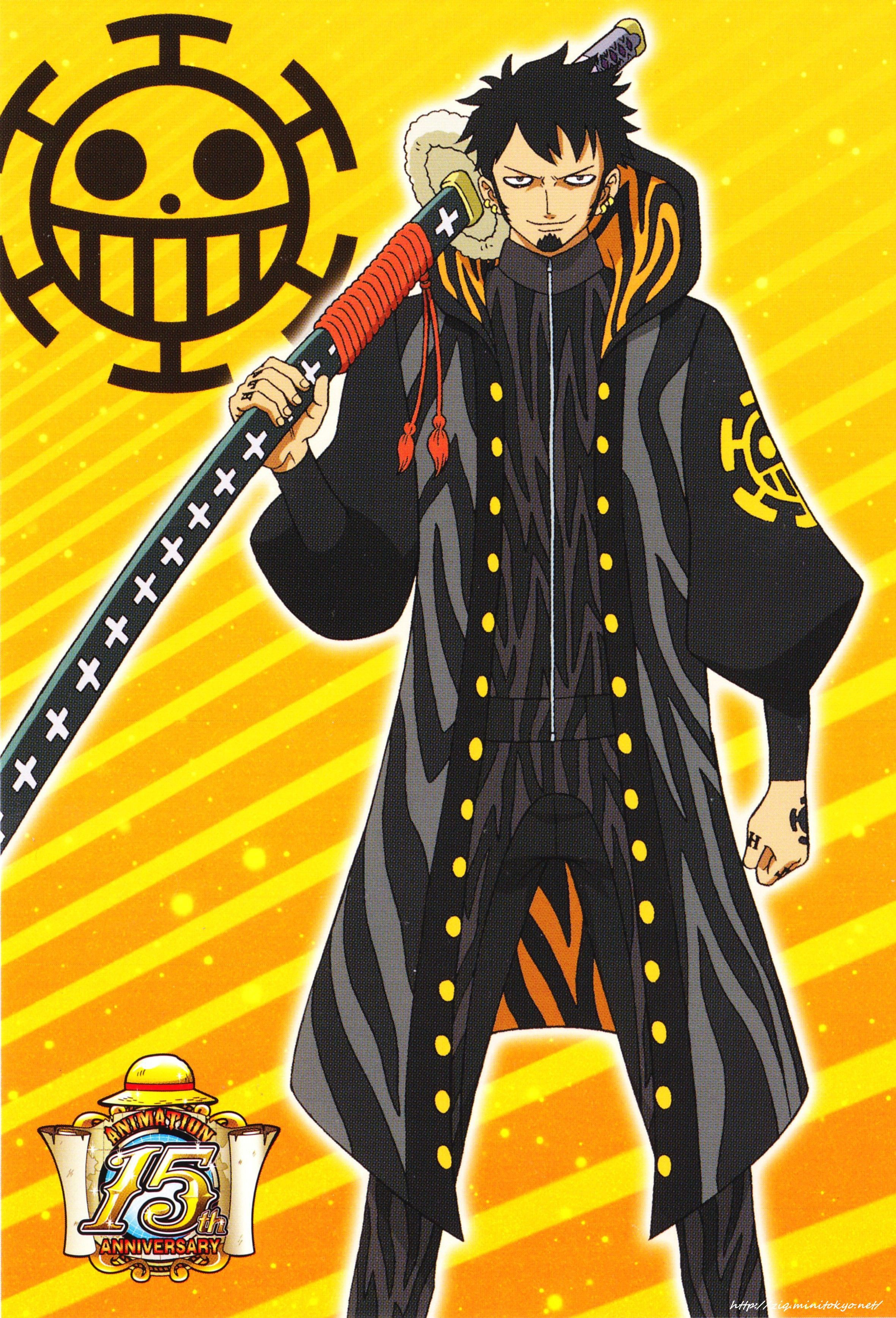 Tags One Piece Trafalgar Law Official Art One Piece Two