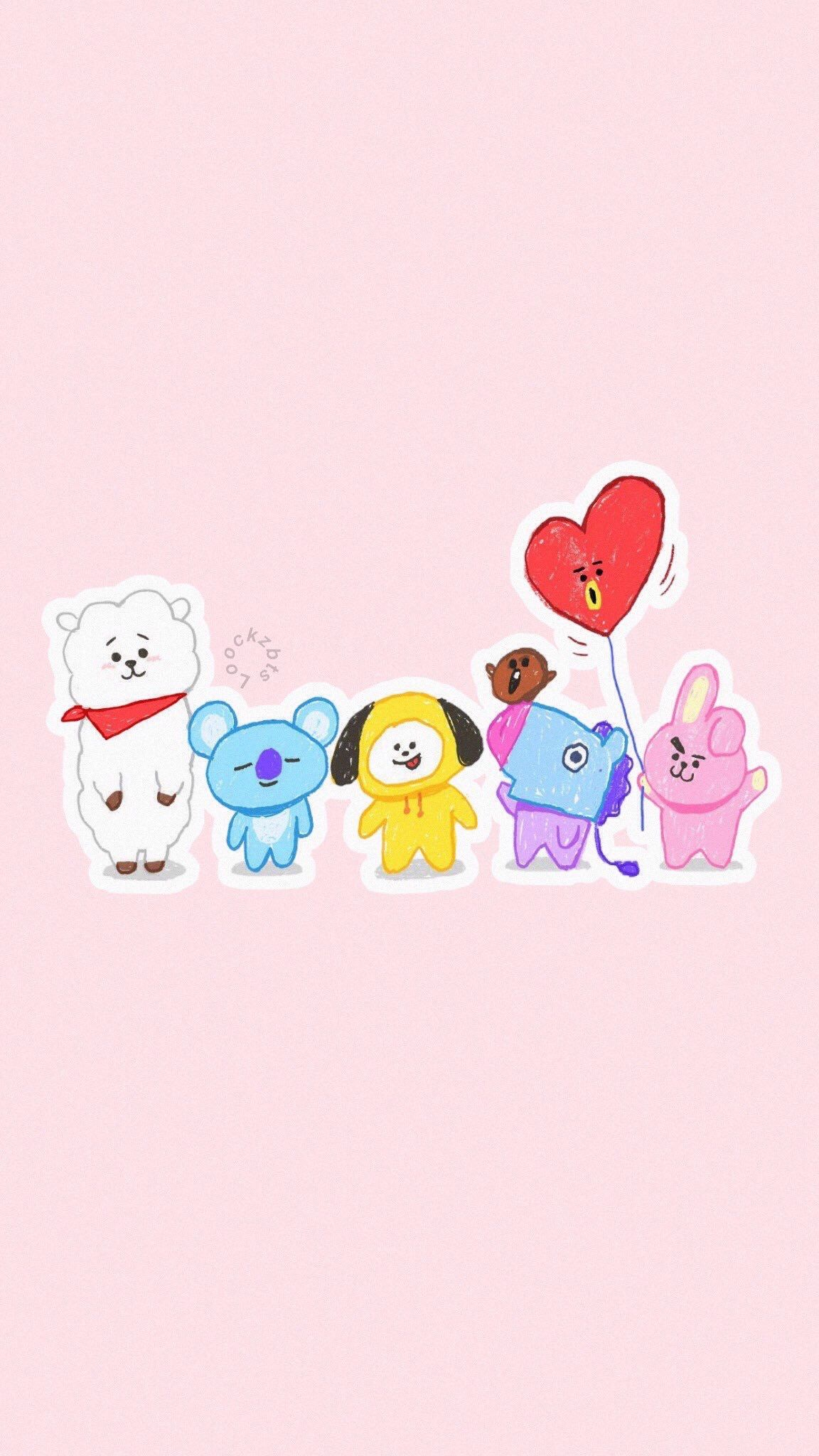 ️ ️ ️ bts bt21 BTS love Pinterest BTS, Wallpaper