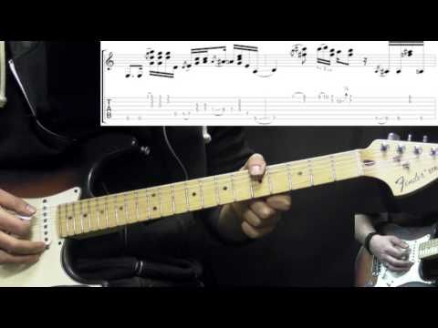Stevie Ray Vaughan - Little Wing - Blues/Rock Guitar Lesson Part1 (w ...