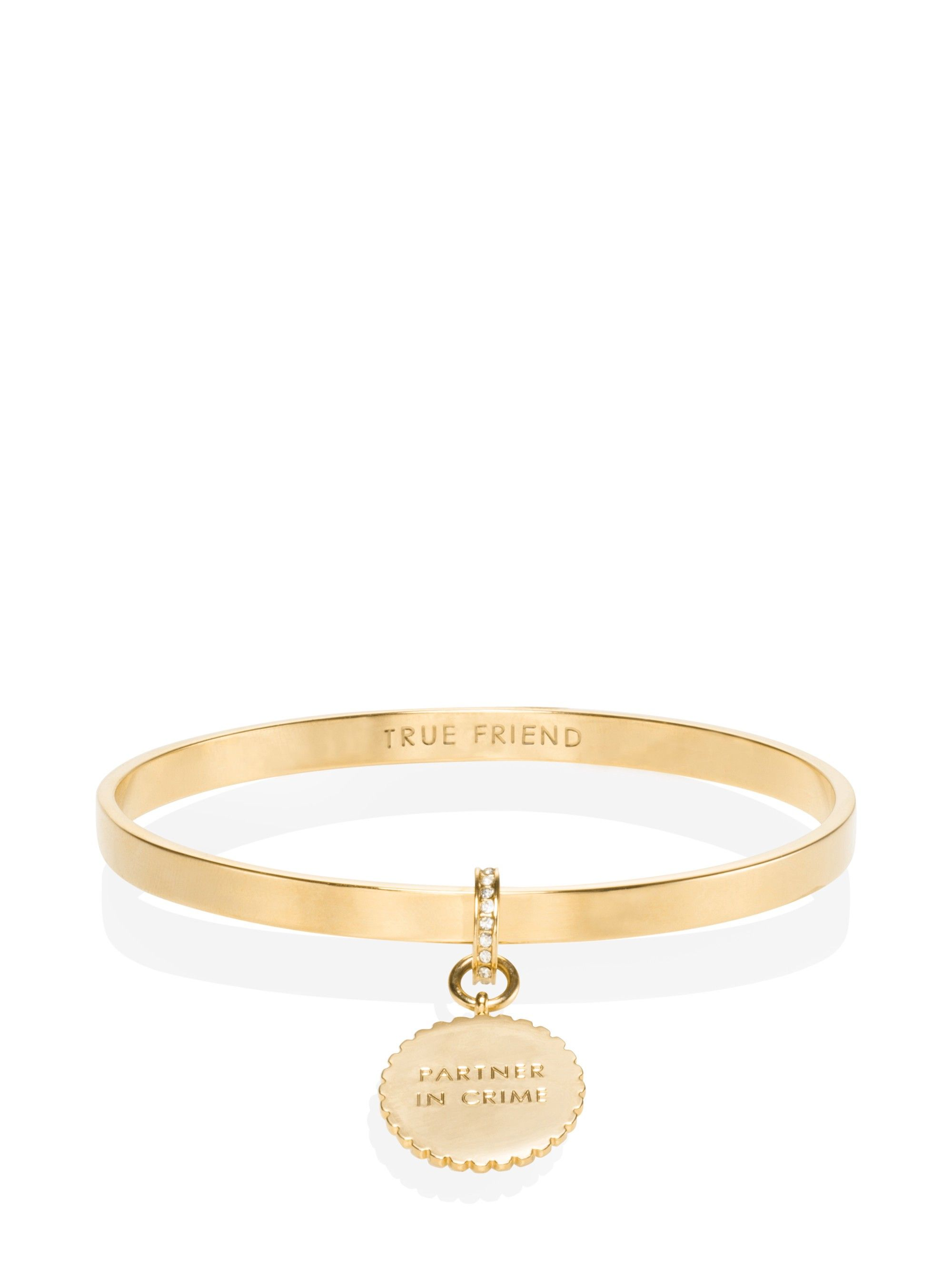 Say yes scalloped partners in crime bangle by kate spade in