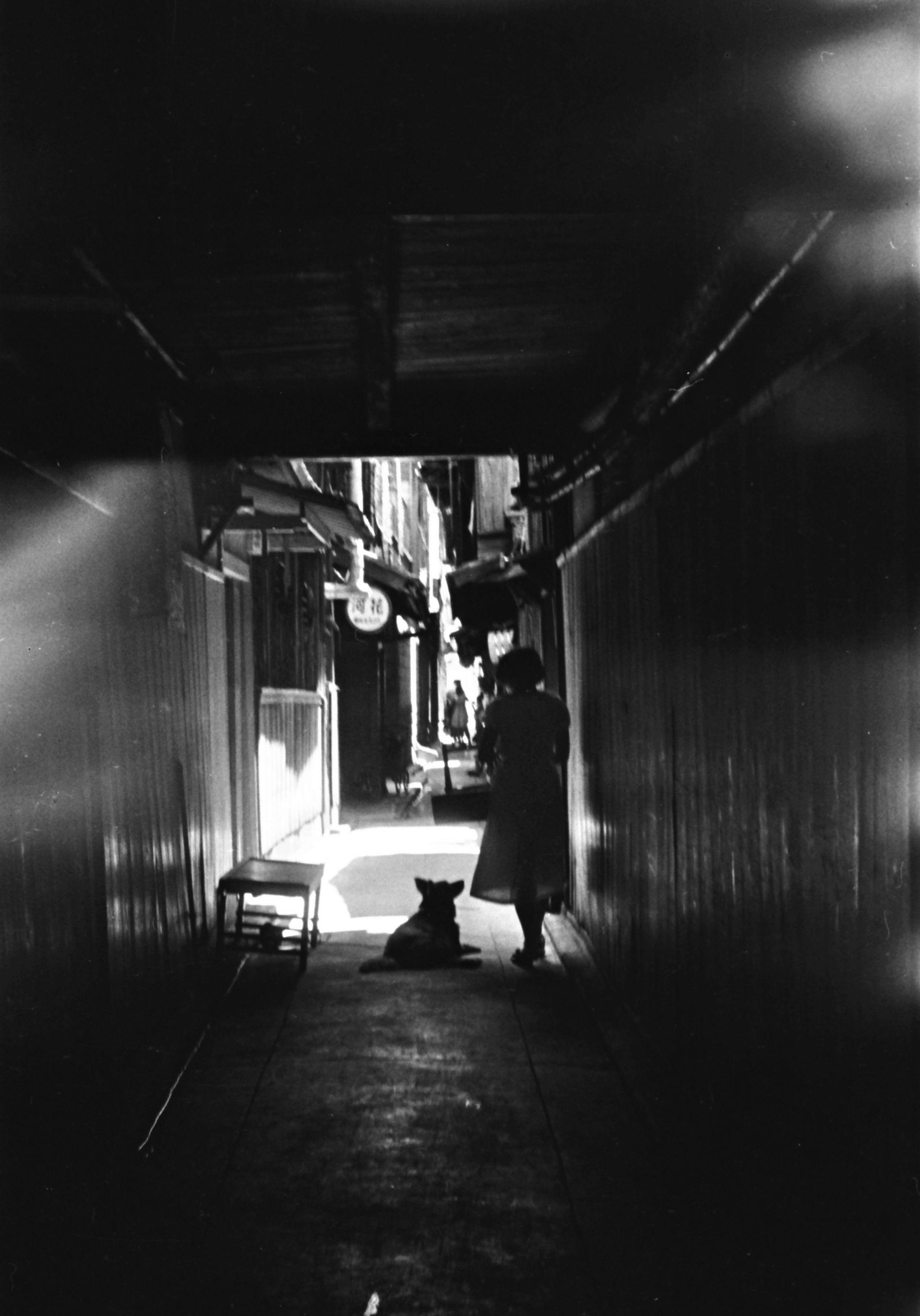 Kyoto Story 1955. Kansuke Yamamoto, ©Toshio Yamamoto.