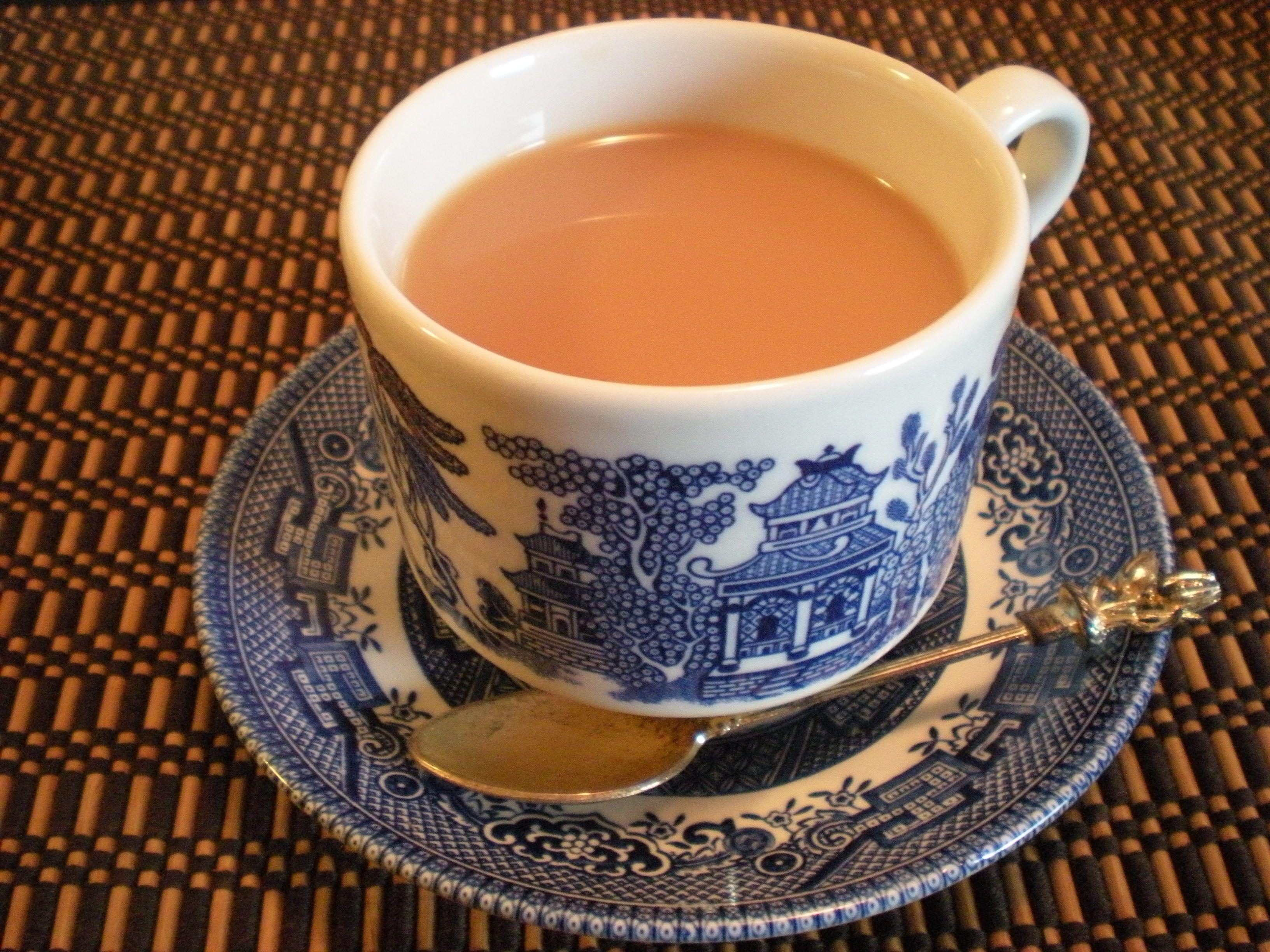 Assam Tea with milk | Tea | Tea, Tea cups, Milk tea