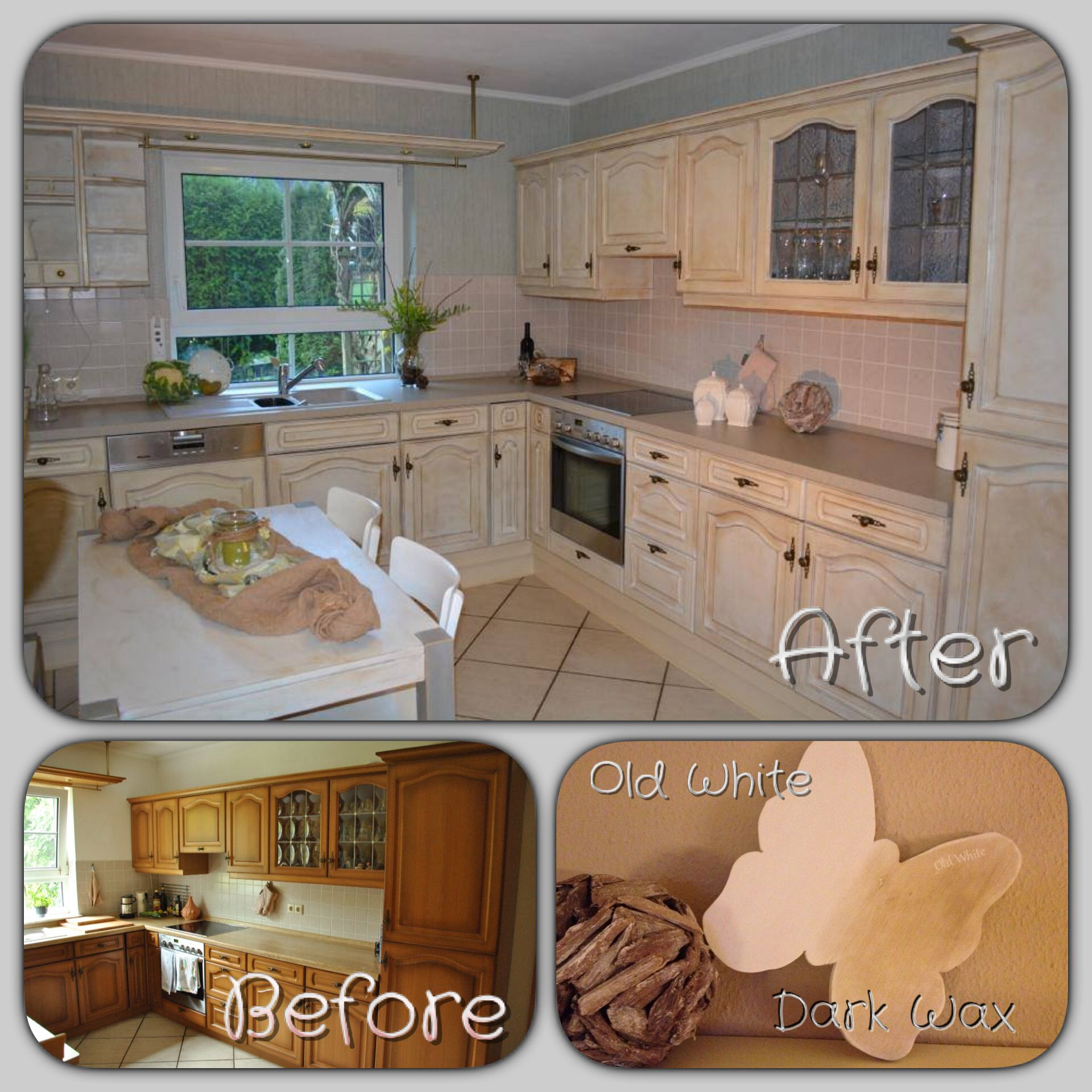 """Kitchen Make Over With """"Chalk Paint"""""""