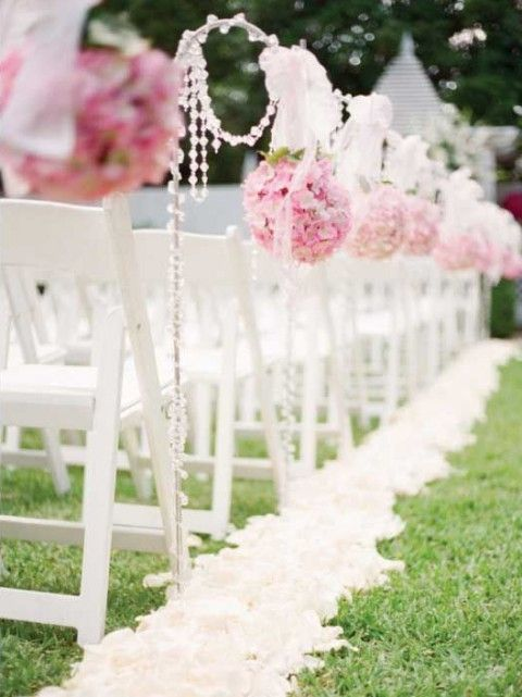 Outdoor wedding aisle 69 outdoor wedding aisle 68 for Outdoor wedding decoration ideas