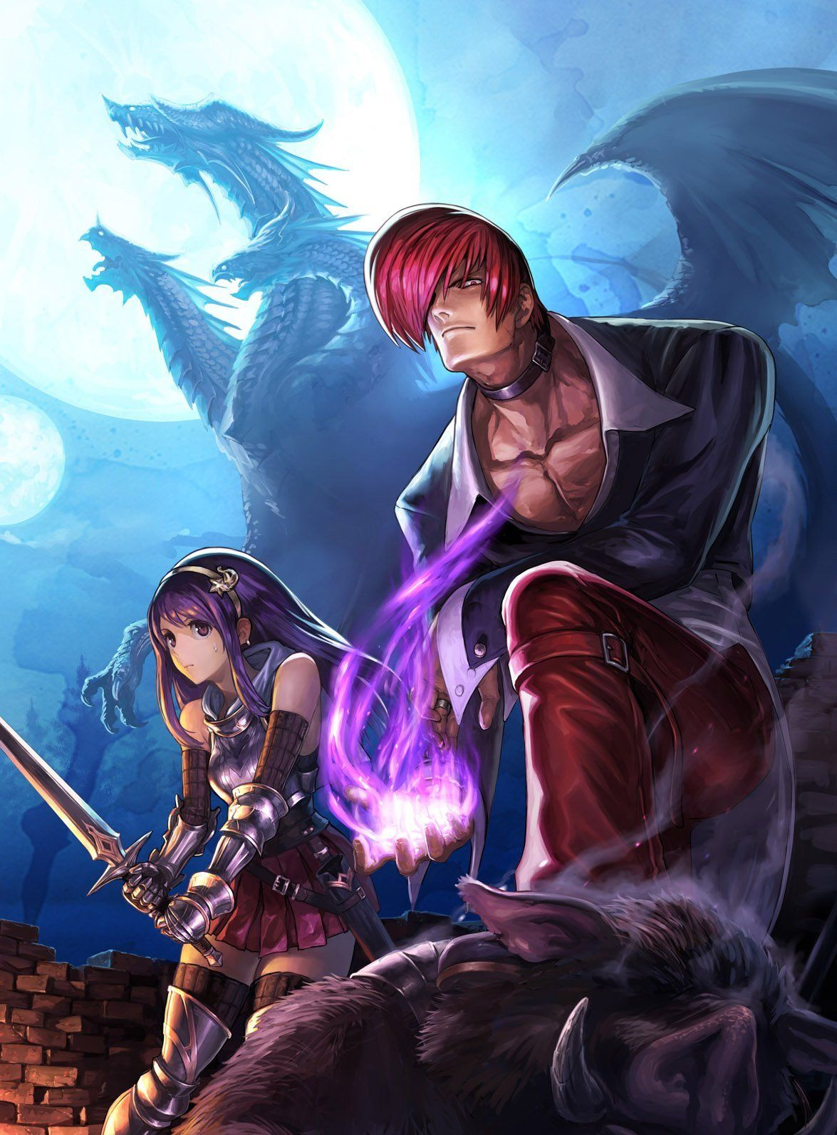 The King Of Fighters King Of Fighters Street Fighter Art Fighter