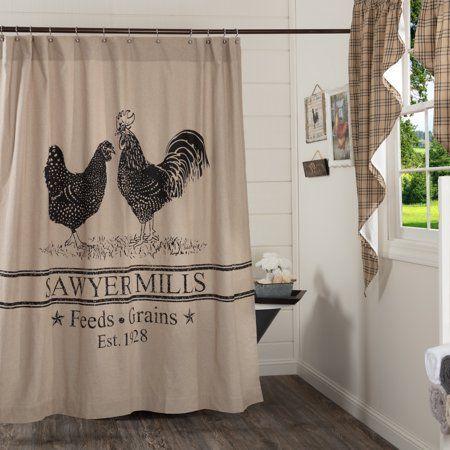 Home Shower Curtains Walmart Farmhouse Shower Curtain Fabric