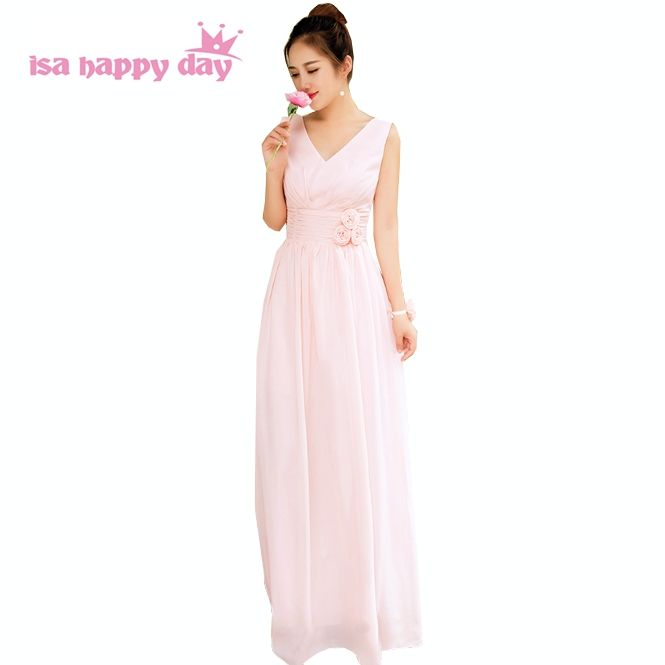 cheap elegant lace up back long formal 2017 womens pastel pink ...