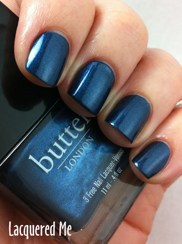 Lacquered Me: Butter London Big Smoke | Nails | Pinterest | Color y ...