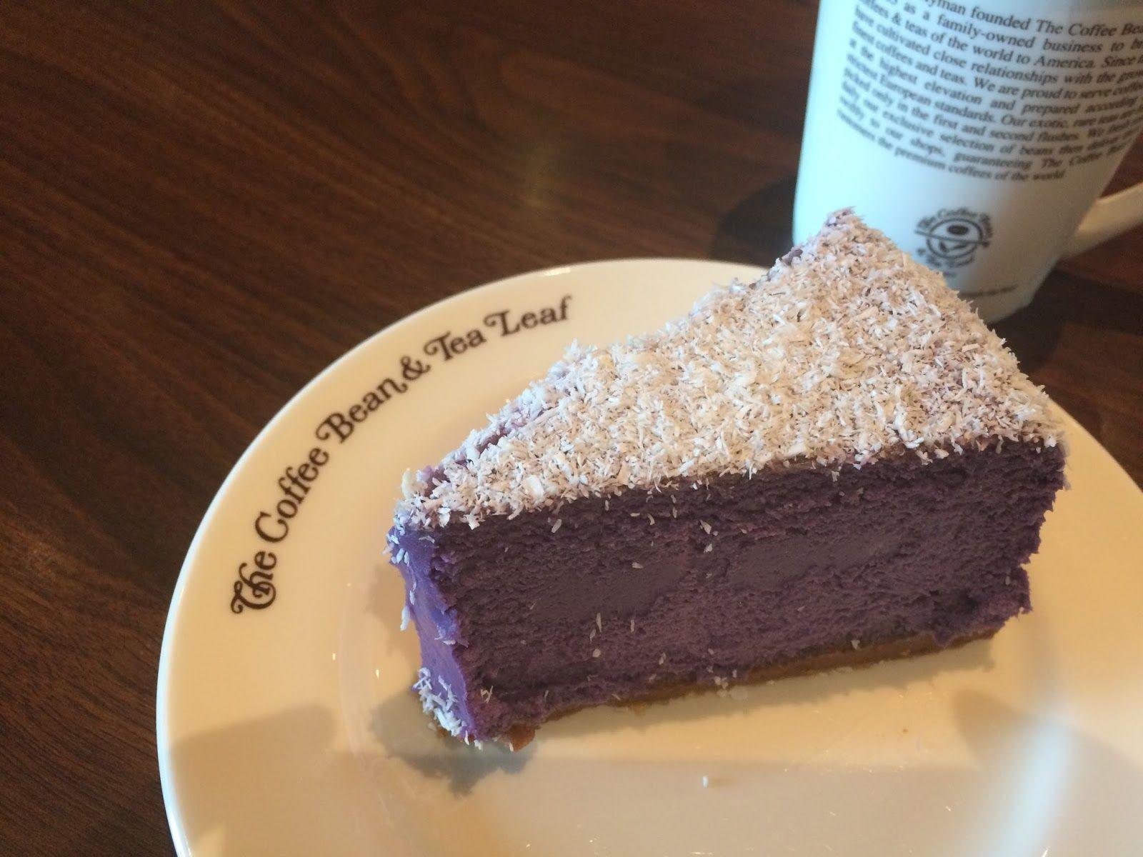 Ube Cheesecake Purple Yam Cheesecake Sweets Desserts Desserts Cheesecake
