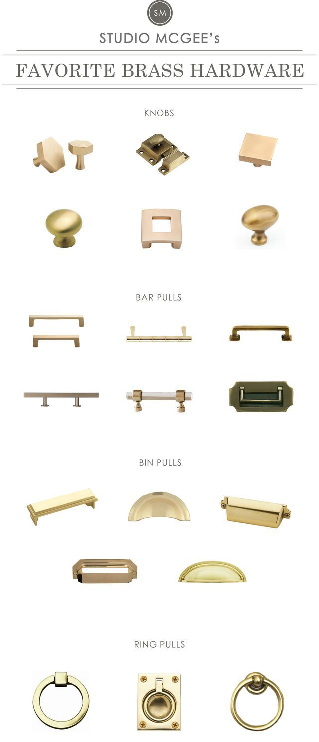 A Roundup Of Our Favorite Brass Hardware Studio Mcgee