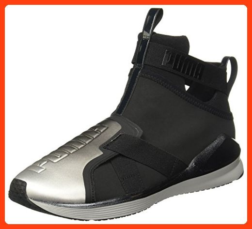 Puma Corsica Plaid Wn's 352300, Damen, Sneaker, Grau (silver birch-white 03), EU 37 (UK 4) (US 6.5)