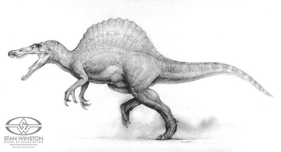 Realistic T Rex Drawing