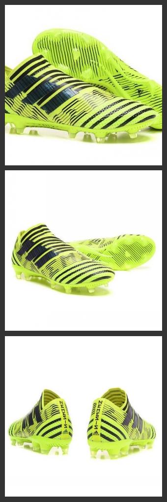 83b96a61b2 Scarpe Da Calcio Adidas - Nemeziz 17+ 360 Agility FG - Giallo Solare Nero.