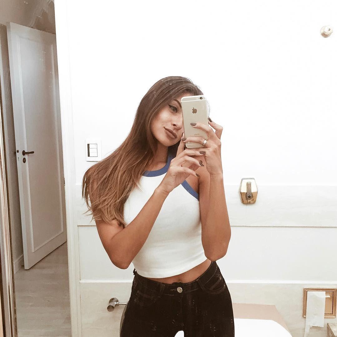 Cropped Branca Forever 21 Veja Mais Fotos No Instagram De