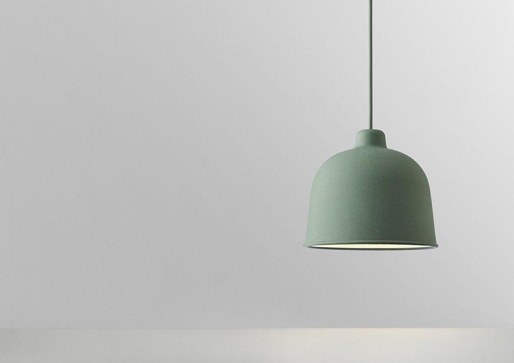 Image Result For Muuto Grain Pendant In Green Pendant Light Led Light Bulbs Led Light Bulb