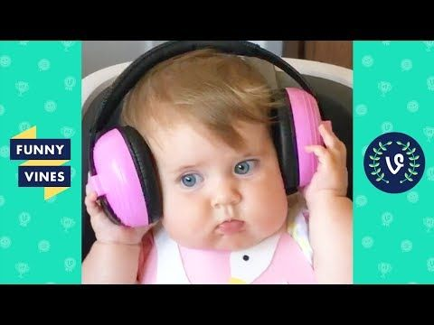 Image of: Gif Try Not To Laugh Kids Fails amp Cute Babies Funny Videos October 2019 Giphy Youtube Jewelry Roll Pinterest Funny Funny Baby Gif And Funny