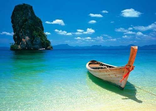 travel, Thailand, ocean