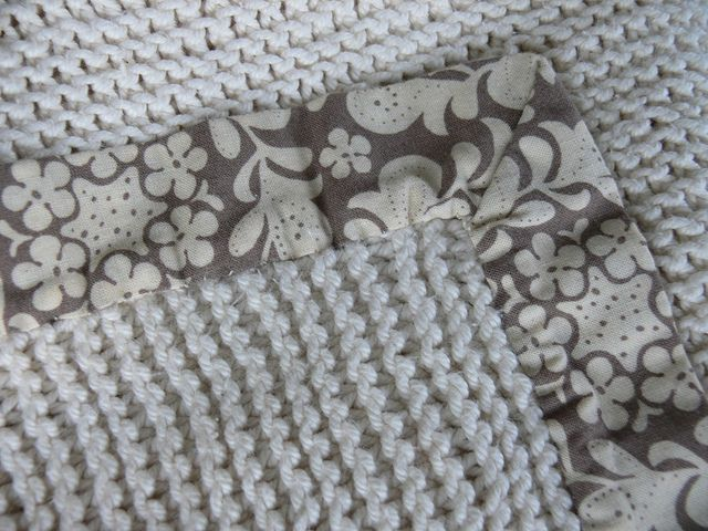 Jenny: Knitted Baby Blanket by Stumbles & Stitches, via Flickr