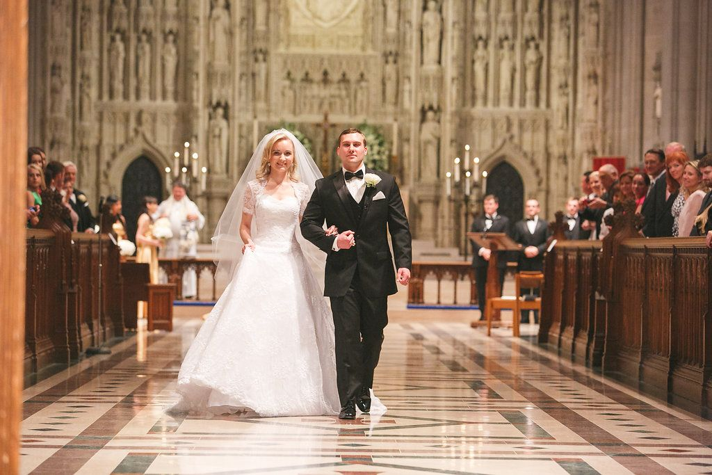 Elena Taube Bailey Wedding At The Washington National Cathedral
