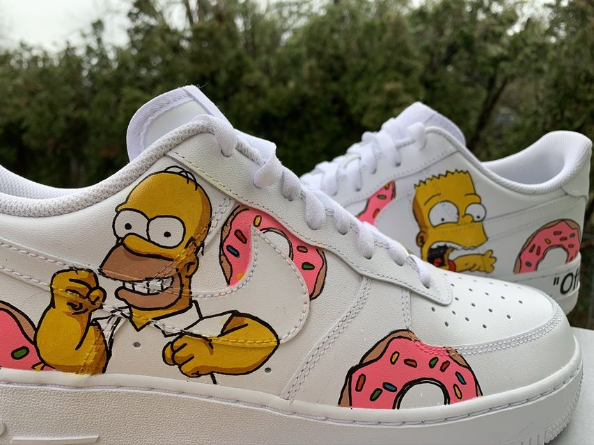 Simpsons Air Force One