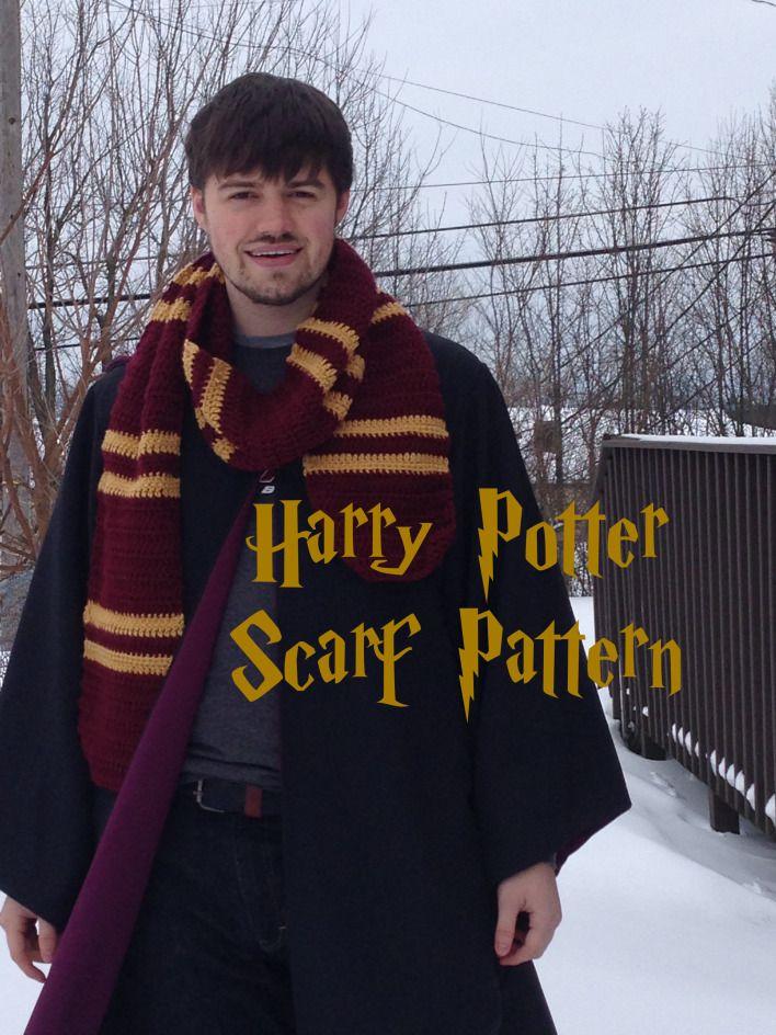 Harry Potter Scarf Pattern Crochet Pinterest Breien Sjaal