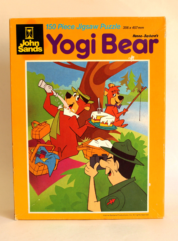 "Hanna-Barbera Classique Original Yogi Bear Show TV Cartoon 1/"" Mini Figure Figurine"