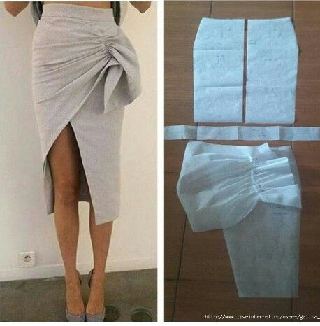 Wrap skirt | Time to Sew!! / A Coser!! | Pinterest | Wraps, Patterns ...