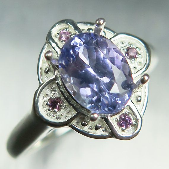 1.40ct Natural Purple blue with hint of perple Tanzanite by EVGAD