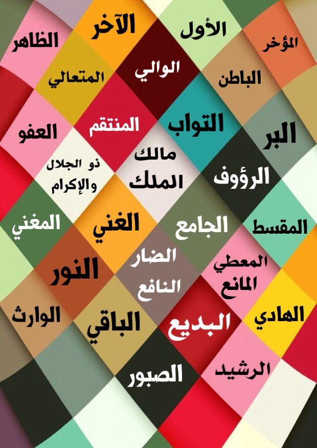 أسماء الله الحسنى صورة رقم ٣ Islamic Art Calligraphy Picmonkey Photo Editing