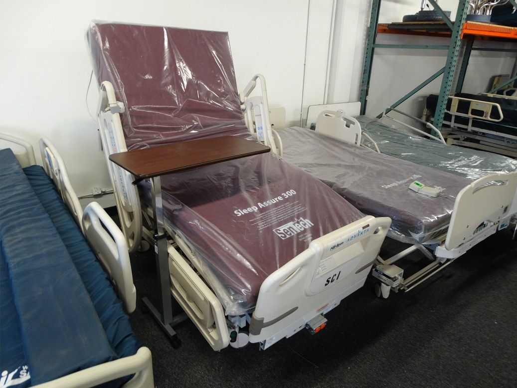 Hill Rom Advanta P1600 Bed (With images) Hospital bed