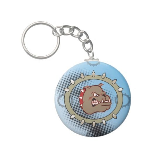 Tuff Dog Keychain