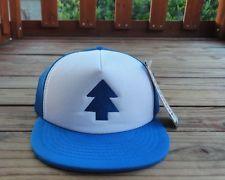 Blue Pine Tree Hat Dipper Cap from Gravity Falls Cartoon Network Trucker  Cool 9044a34f5cc