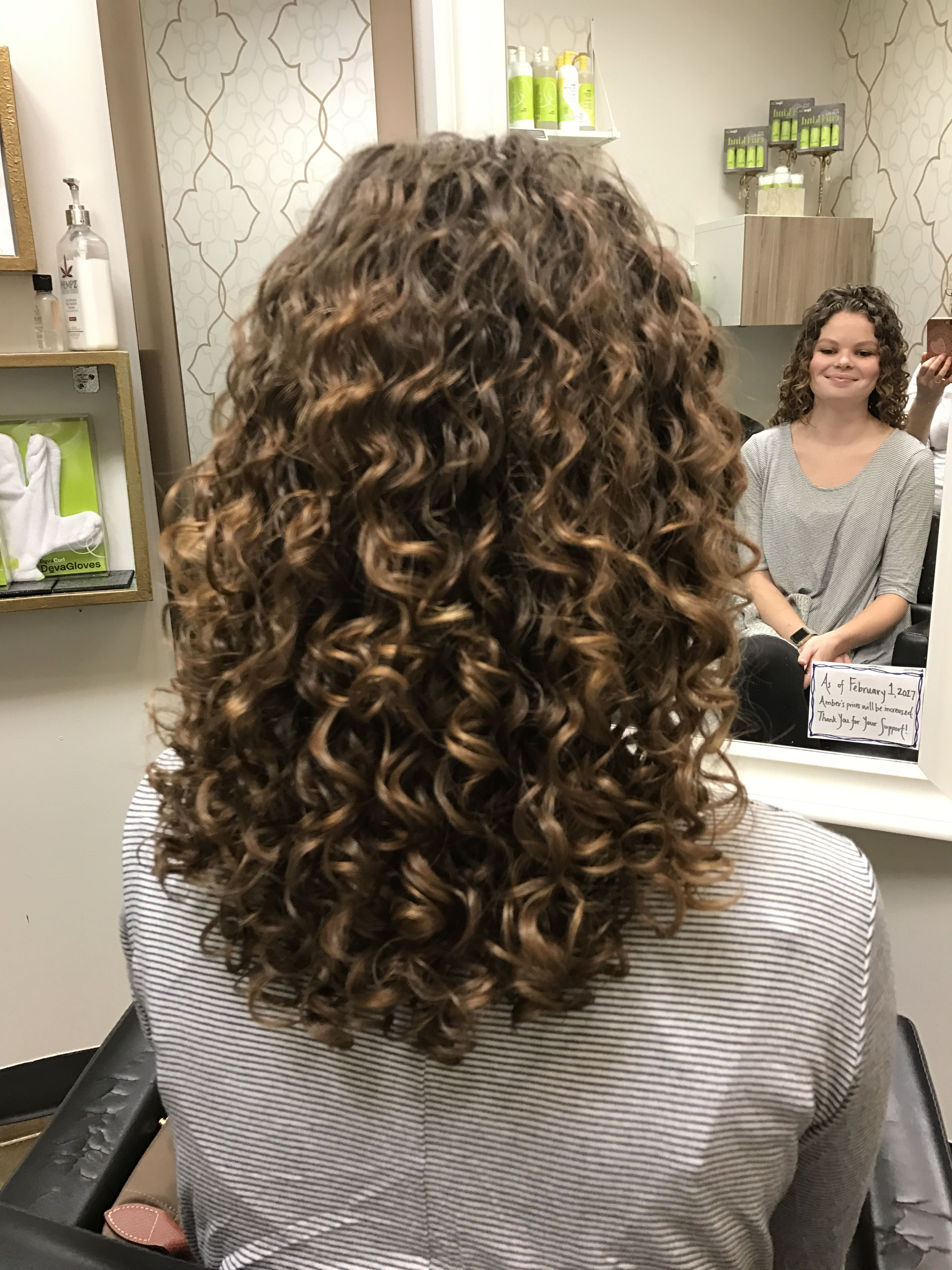 Dreamy Curls Long Hair Perm Permed Hairstyles Medium Permed Hairstyles