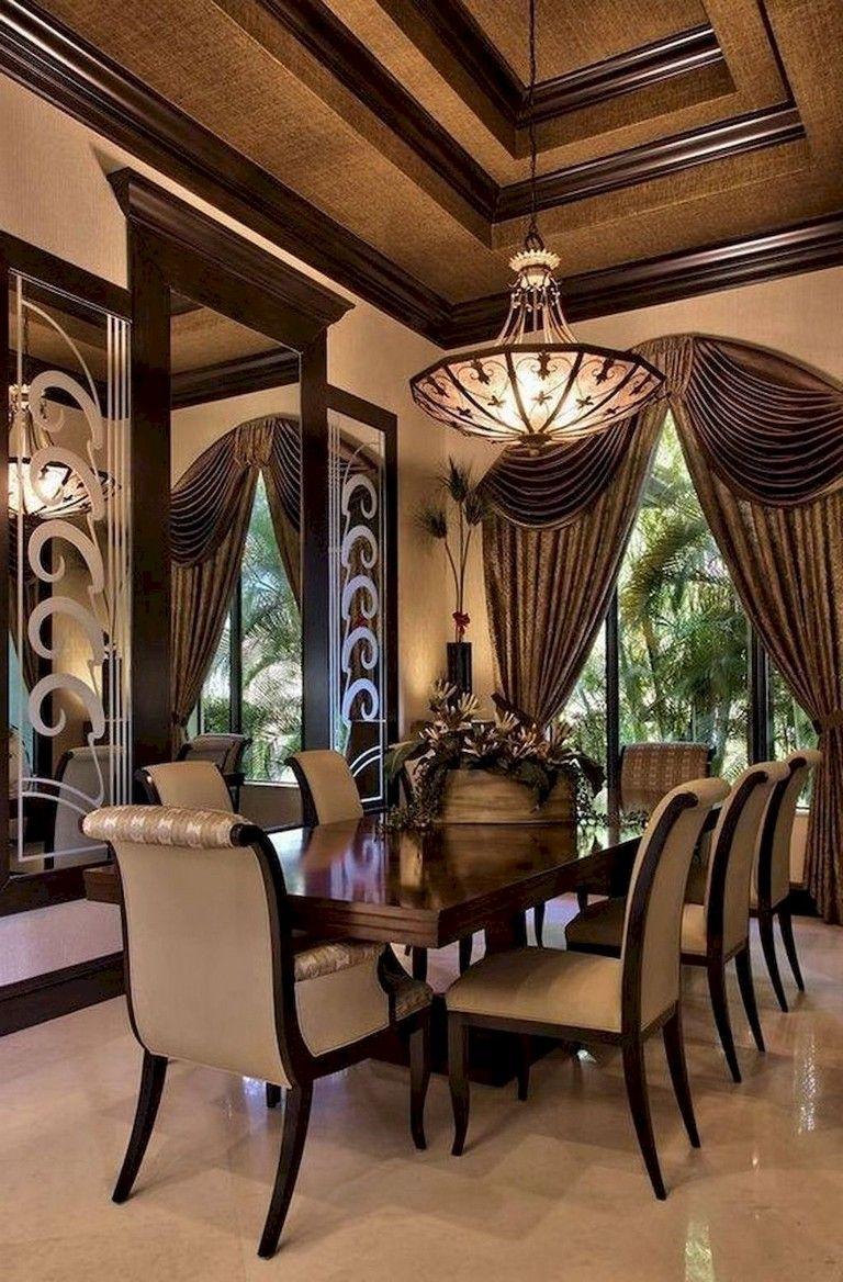 80 Heavenly Modern Farmhouse Dining Room Decor Ideas Diningroomideas Diningroomdecorating Diningta Classy Dining Room Luxury Dining Room Elegant Dining Room