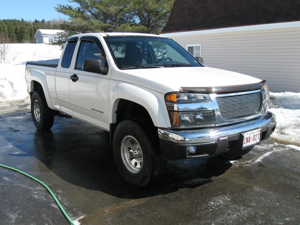 Gmc canyon off road 09