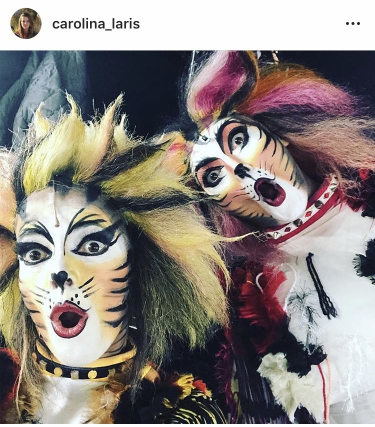 Pin By Bubba Smith On Fotos Cats Cats Musical Cats Cast Cat Makeup